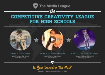 Promo for The Media League, the competitive creativity league and startup I co-founded in 2013