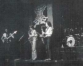 Me in one of my first bands Nom Provisoire (1979)