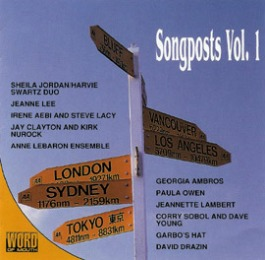 A CD I produced for my label Word of Mouth in 1992