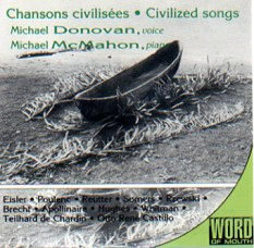 A CD I produced for my label Word of Mouth in 1995