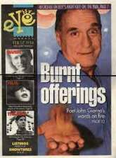 A cover story I wrote for eyeweekly magazine in Toronto in 1991