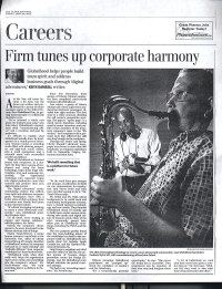 A full page article in the Globe and Mail about my business, Globalhood, in 2002