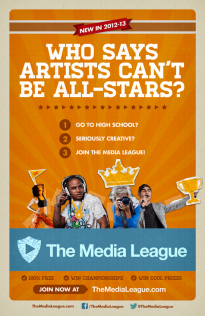 Promo for The Media League, the competitive creativity league and startup I co-founded in 2012