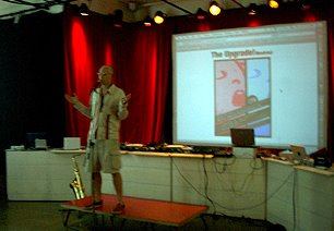 Performing 2 Million Years of technology at the SAT in Montreal in 2007